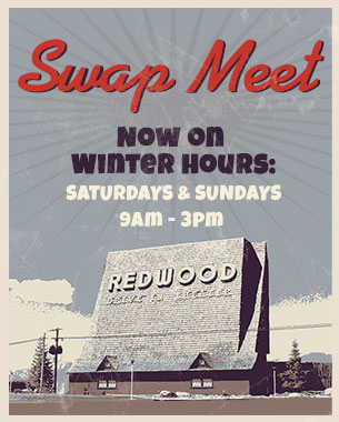 redwood drive in swap meet