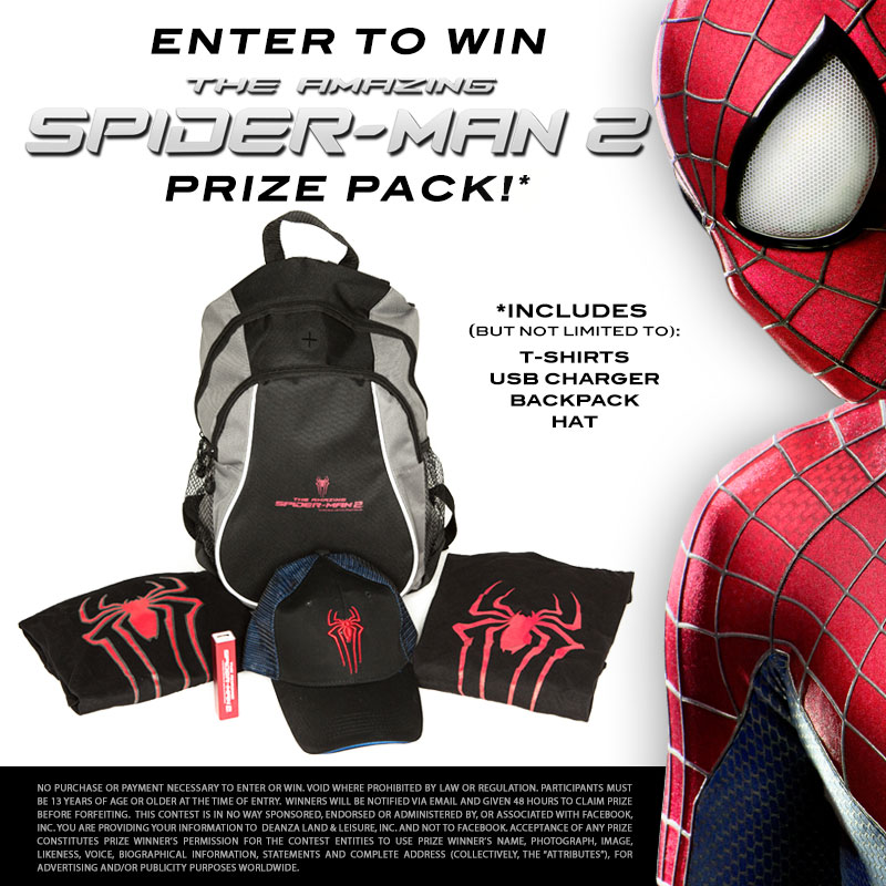 Amazing Spider-Man 2 Giveaway!
